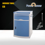 CE,FDA,ISO13485 approved: High quality beside table C-08 ABS bedside table/hospital bedside table/hospital cabinets