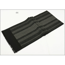 Men′s Womens Unisex Reversible Cashmere Feel Winter Warm Thick Knitted Woven Scarf (SP822)