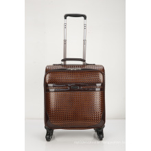 Hot PU Luggage Leather Boarding