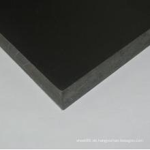 China Preis Schwarz verstärktes PVC-Blatt / Brett