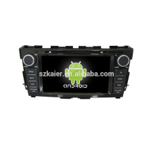 Quad core double din car dvd player gps software car gps with GPS,BT,DVR,Steering Wheel Control for Nissan Teana 2014