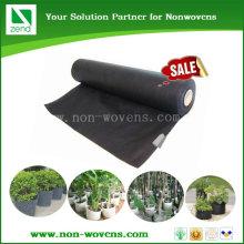 Горшечные пейзаж защитить черный PP нетканых материалов