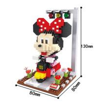 Minie mouse dos desenhos animados blocos de plástico de construção nano (10263793)