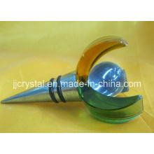 Crystal Wine Plug, Crystal Rotwein Stopfen, Crystal Bottle Stopper