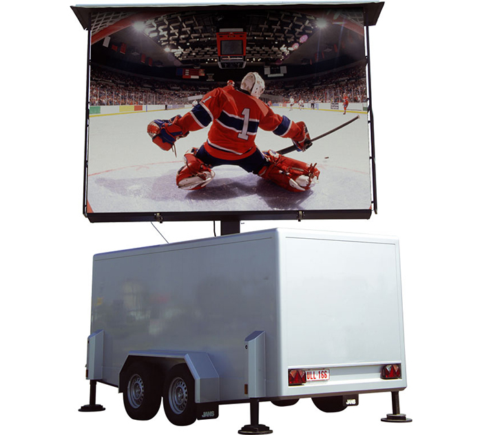 LED Trailer display
