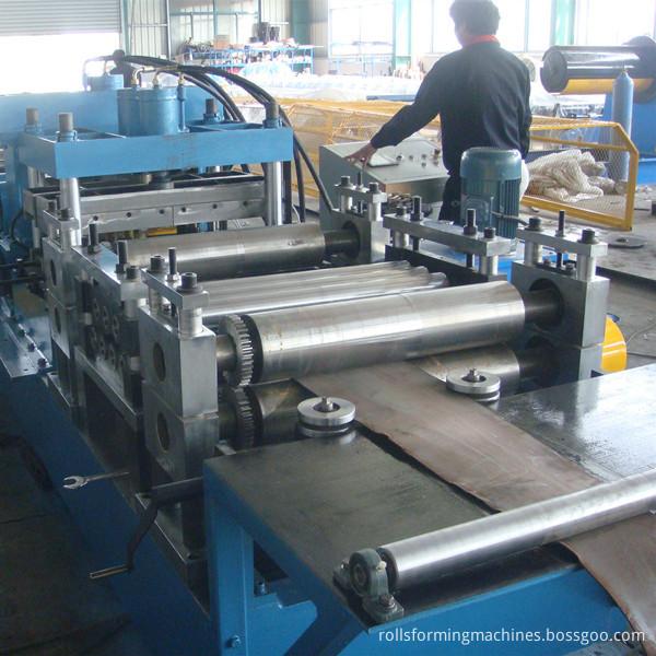 C Z Section Steel Purlin Machine