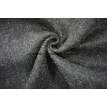 Tissu de laine noir et blanc avec d'autres