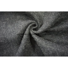 Black and White Wool Fabric with Others