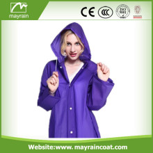 Soft PVC Adult Raincoat