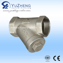 Y Type Stainless Steel Strainer