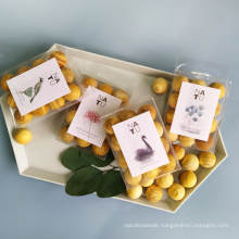 12pcs scented wooden balls in PVC box customize logo