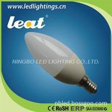 Hot home lighting LED candle light 3W 250lm high quality with CE