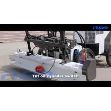 Máquina niveladora hidráulica de hormigón con solera láser