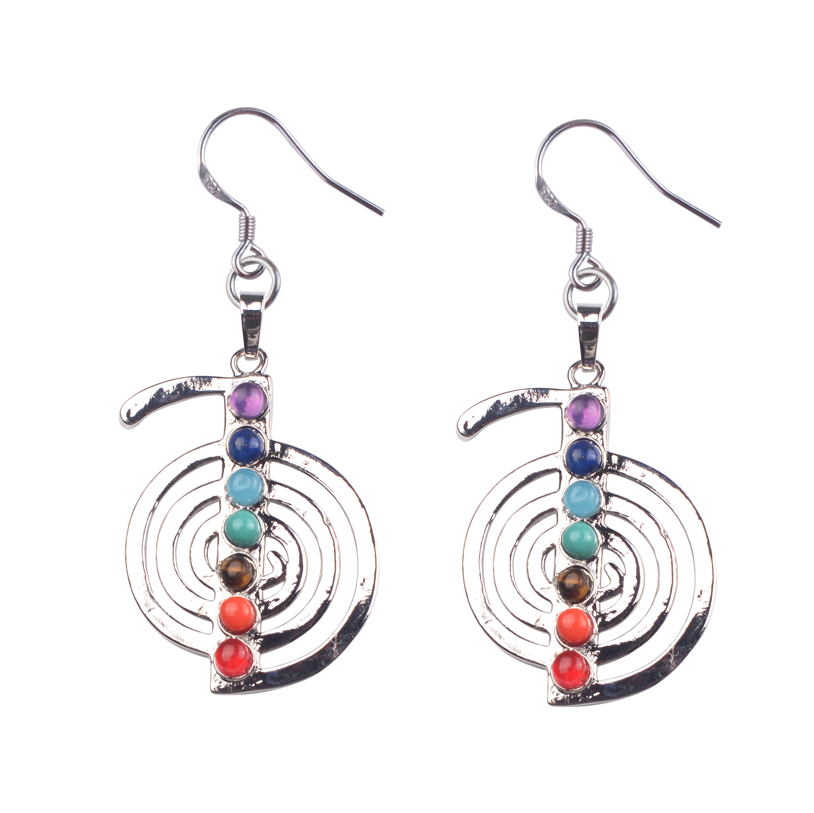 silver earring