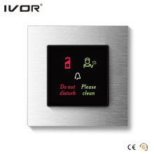 Hotel Doorbell System Outdoor Panel Aluminum Alloy Frame (HR-dB1000S2R-AL)