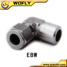 AFK Stainless Steel Tube Fittings Butt Weld Elbow