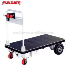 Camión de plataforma de elevación de tijera con pilas / camión de mesa eléctrico