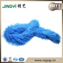 Bufanda de piel de cordero 100% de cachemira