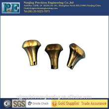 Kundenspezifische Dekoration CNC-Bearbeitung Messing Schaltknauf