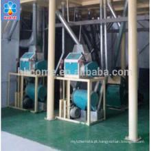Com ISO, equipamentos de processamento profundo de milho de certificação BV