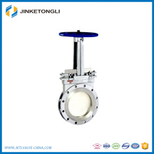 Manaul wafer type wcb knife gate valve