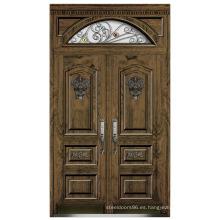 Italia puerta de acero blindada puerta dormitorio proveedor China (D4021)