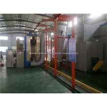 Automatische elektrostatische Kabinett Pulverbeschichtungsgerät