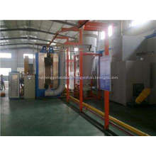 Automatic electrostatic Cabinet Powder coating equipment