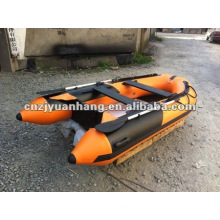 Inflatable pvc rowing sports boat/ rubber raft