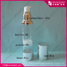 Alu Series Round Airless Pump Clear Bottle