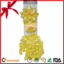 Arc de curling coloré de ruban de cadeau pour la décoration d'emballage