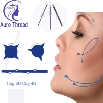 Opneembare Face Lifting Thread Pdo hechtdraad Cog