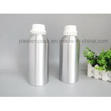 Garrafa de óleo de fragrância de alumínio com tampa de prova branca anti-adulteração (PPC-AEOB-032)
