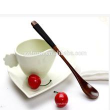 artesanía de madera barata de encargo de la cuchara del helado