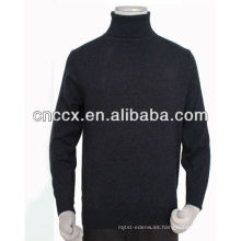 Jersey de cachemir de jersey de cuello alto de hombre 13STC5531