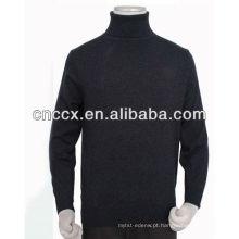 Pullover da caxemira da gola da camisola do homem 13STC5531