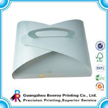 Kundenspezifische Papppapier-Gebäck-Kästen, die mit Logo verpacken