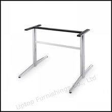 Durable Edelstahl Rechteck Office Table Base (SP-STL035)