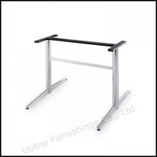 Base de la tabla de la oficina del rectángulo del acero inoxidable durable (SP-STL035)