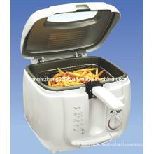 Friteuse 1800 watts athermane boîtier en plastique avec une capacité de 2,5 L
