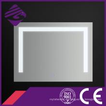Jnh135 Saso Good-Looking Rectangle Espejos de vidrio para baño con luz LED