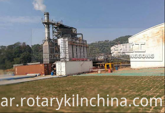 Soil Restoration Rotary Kiln