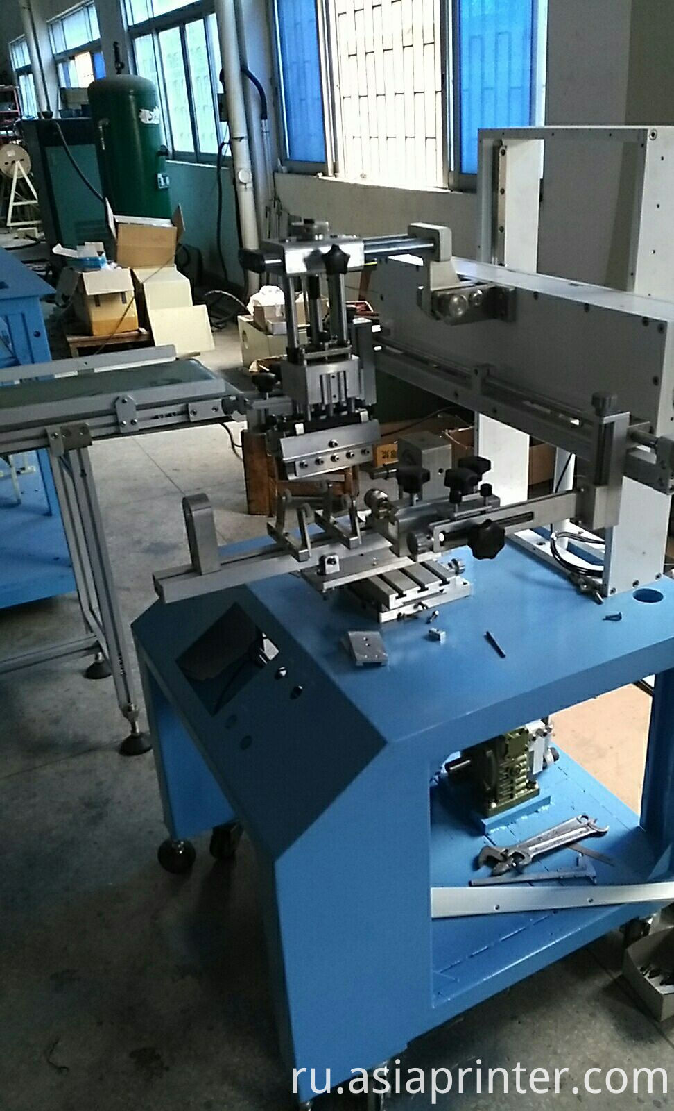 cylinder Servo screen printer