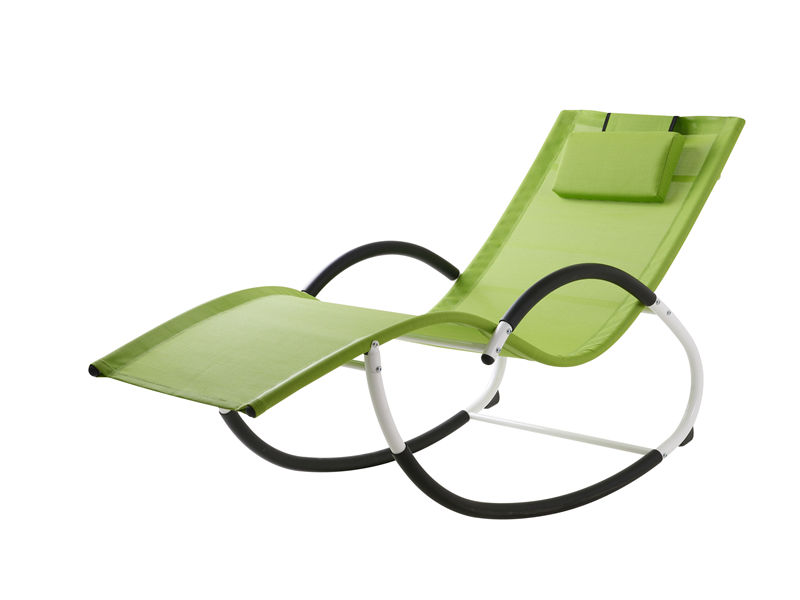 steel G rocking chair S1107