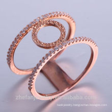 fashion gold plated jewelry 14k new models AAA zircon copper dubai gold jewelry for women