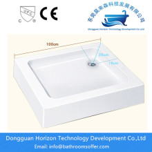 Shallow shower tray slim shower tray