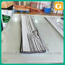 Autocollant démontable de plancher de vinyle de décoration