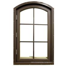 Europe Style Glass French Aluminium Casement Window