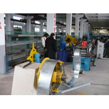 Galvanized Steel Fire Frame Roll Forming Production machine
