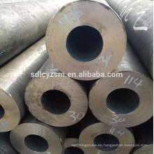 tubo de tubo de acero de carbono inconsútil de la construcción sch 40/80